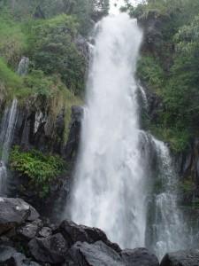 Blue Pool Waterfall