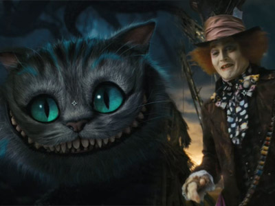 alice-in-wonderland-cat. I think Johnny Depp will make the perfect Mad