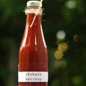 rhubarbketchup