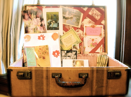 Repurposing ideas chindeep - Repurposing old suitcasescreative ideas ...