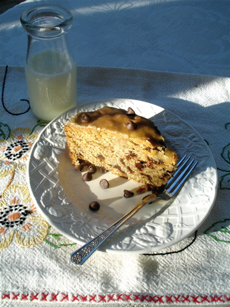 lemony olive oil banana bread | ChinDeep