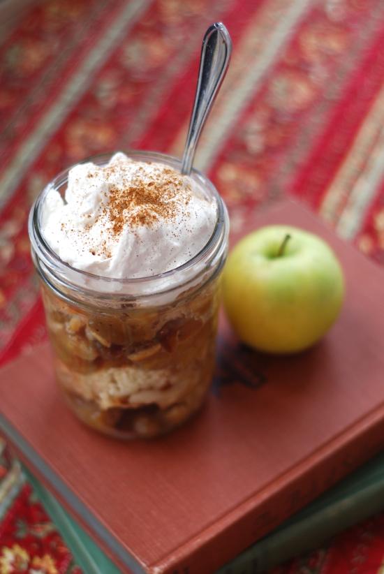 apple pandowdy with cognac cream | ChinDeep