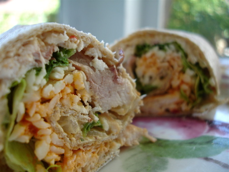Jerked Pulled Pork Wraps With Mango And Banana Relish ...