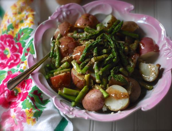 Provencal Potato Salad Recipe — Dishmaps