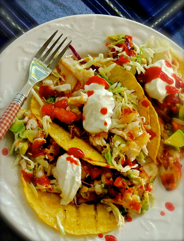 firecracker fish tacos | ChinDeep