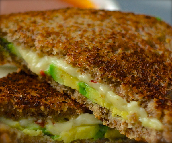 pepper jack avocado grilled cheese sandwich | ChinDeep