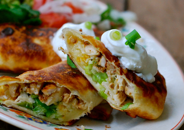 chicken chimichanga recipe with pepper jack cheese