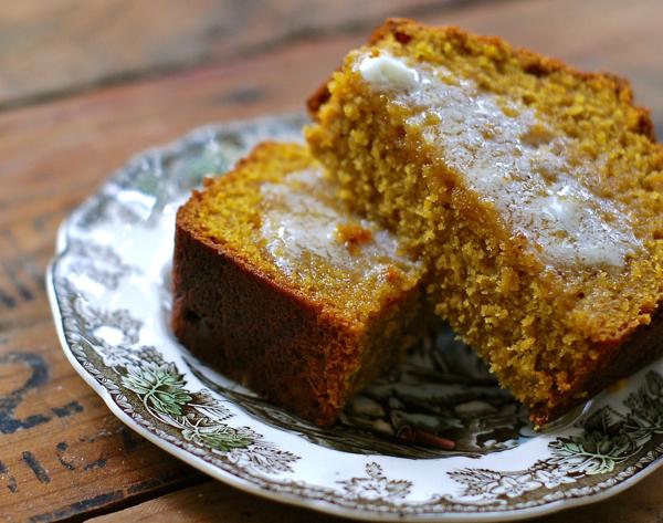 ... recipe makes one heck of a super-moist pumpkin bread! This fall