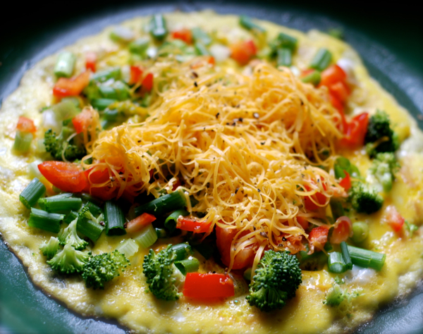 cheddarbroccoliomelette