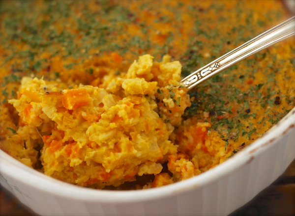 recipe: carrot souffle savory [11]