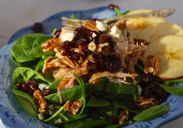 turkeycransalad