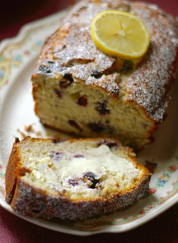 Blueberry Lemon Cream Cheese Bread Chindeep