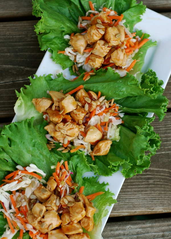 General Tso S Chicken Lettuce Wraps Chindeep