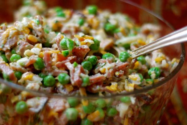 Pea Salad Recipe With Ham