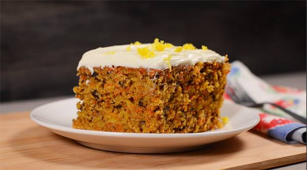 Moist Carrot Cake Recipe With Mayonnaise